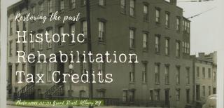 historic rehabilitation tax credits Albany